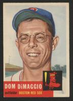 Dom DiMaggio 1953 Topps #149 at PristineAuction.com