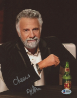 """Jonathan Goldsmith Signed """"Dos Equis"""" 8x10 Photo Inscribed """"Cheers"""" (Beckett COA) at PristineAuction.com"""