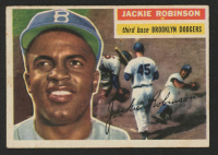Jackie Robinson 1956 Topps #30 at PristineAuction.com