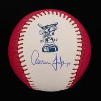 Aaron Judge Signed 2017 Home Run Derby Logo OML Baseball (JSA ALOA) at PristineAuction.com