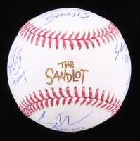 """""""The Sandlot"""" OML Baseball Cast-Signed By (6) with Tom Guiry, Chauncey Leopardi, Marty York, Victor Di Mattia with Multiple Inscriptions (Beckett COA) at PristineAuction.com"""