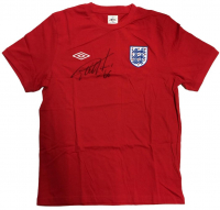 Geoff Hurst Signed England Umbro Jersey (Beckett COA) at PristineAuction.com