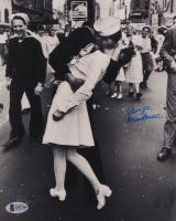 "George Mendonsa Signed ""VJ Day"" 8x10 Photo (Beckett COA) at PristineAuction.com"