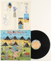 """Talking Heads """"Little Creatures"""" Vinyl Record Album Signed by (4) with David Byrne, Chris Frantz, Tina Weymouth & Jerry Harrison (JSA COA) at PristineAuction.com"""