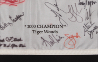 2000 U.S. Open Champions Pin Flag Signed by (24) with Arnold Palmer, Jack Nicklaus, Justin Rose, Jim Furyk, Webb Simpson (JSA ALOA) at PristineAuction.com