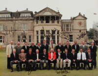 British Open Champions 10x14 Photo Signed by (9) with Sandy Lyle, Ben Curtis, Ernie Els, Ian Baker Finch, Paul Lawrie (JSA ALOA) at PristineAuction.com