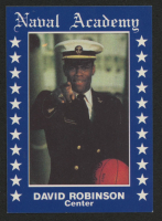 David Robinson 1989 Naval Academy Basketball Card at PristineAuction.com