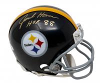 "Jack Ham Signed Steelers Mini-Helmet Inscribed ""HOF 88"" (JSA COA) at PristineAuction.com"