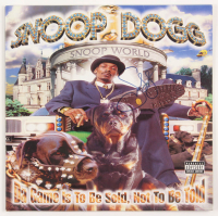 "Snoop Dogg Signed ""Da Game Is To Be Sold, Not To Be Told"" Vinyl Record Album Cover (JSA Hologram) at PristineAuction.com"