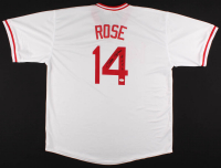 "Pete Rose Signed Jersey Inscribed ""4256"" (JSA COA) at PristineAuction.com"