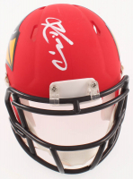 Kyler Murray Signed Cardinals AMP Alternate Speed Mini-Helmet (Beckett COA) at PristineAuction.com
