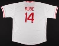 "Pete Rose Signed Jersey Inscribed ""4256"" (JSA COA) at PristineAuction.com"