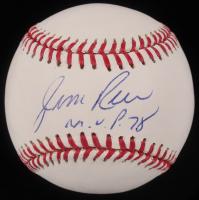 "Jim Rice Signed OML Baseball Inscribed ""M.V.P. 78"" (Your Sports Memorabilia Store COA) at PristineAuction.com"