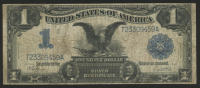 """1899 $1 One Dollar """"Black Eagle"""" U.S. Silver Certificate Large Size Bank Note at PristineAuction.com"""