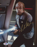 "Michael Dorn Signed ""Star Trek: The Next Generation"" 8x10 Photo (PSA COA) at PristineAuction.com"