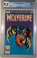 "1982 ""Wolverine"" Issue #2 Marvel Comic Book (CGC 9.2) at PristineAuction.com"