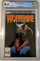 """1982 """"Wolverine"""" Issue #3 Marvel Comic Book (CGC 8.5) at PristineAuction.com"""