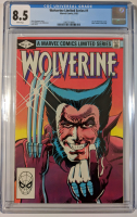 "1982 ""Wolverine"" Issue #1 Marvel Comic Book (CGC 8.5) at PristineAuction.com"
