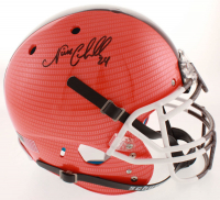 Nick Chubb Signed Browns Full-Size Authentic On-Field Hydro-Dipped Helmet (JSA COA) at PristineAuction.com