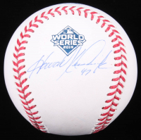 Howie Kendrick Signed 2019 World Series Logo Baseball (JSA COA) at PristineAuction.com