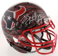 J.J. Watt Signed Texans Full-Size Authentic On-Field Hydro-Dipped Helmet (JSA COA & Watt Hologram) at PristineAuction.com
