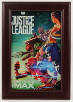 """Justice League"" 14.5x20.5 Custom Framed Print Display at PristineAuction.com"