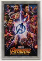 """""""Avengers: Infinity War"""" 12.5x18.5 Custom Framed Movie Poster Display at PristineAuction.com"""