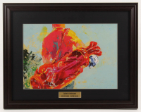 "LeRoy Neiman ""The Golfer"" 18x23 Custom Framed Print Display at PristineAuction.com"
