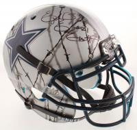 Ezekiel Elliott Signed Cowboys Full-Size Authentic On-Field Hydro-Dipped Helmet (Beckett COA) at PristineAuction.com