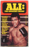 "Muhammad Ali Signed ""Ali: The Greatest Champ"" Softcover Book (JSA LOA) at PristineAuction.com"