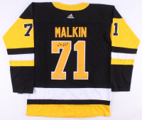Evgeni Malkin Signed Penguins Jersey (Beckett COA) at PristineAuction.com