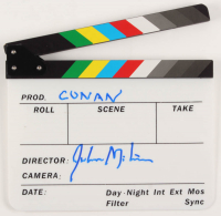 "John Milius Signed Clapperboard Inscribed ""Conan"" (AutographCOA Hologram) at PristineAuction.com"