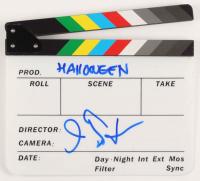 "John Carpenter Signed Clapperboard Inscribed ""Holloween"" (AutographCOA Hologram) at PristineAuction.com"