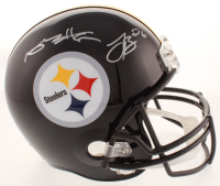Antonio Brown & Le'Veon Bell Signed Steelers Full-Size Helmet (JSA COA) at PristineAuction.com