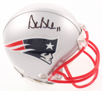Drew Bledsoe Signed Patriots Mini Helmet (JSA COA) at PristineAuction.com