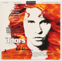 "Val Kilmer ""The Doors"" LaserDisc Movie Cover (AutographCOA COA) at PristineAuction.com"