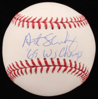 "Art Shamsky Signed OML Baseball Inscribed ""'69 WS Champs"" (JSA COA) at PristineAuction.com"