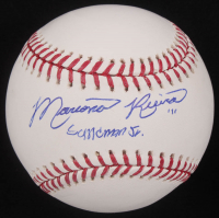 "Mariano Rivera Signed OML Baseball Inscribed ""Sandman Jr"" (JSA COA) at PristineAuction.com"