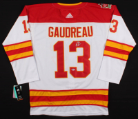Johnny Gaudreau Signed Flames Jersey (Beckett COA) at PristineAuction.com