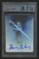 Daisy Ridley Signed 2017 Star Wars Journey to The Last Jedi Rey Continuity #2 Rey (BGS Encapsulated) at PristineAuction.com