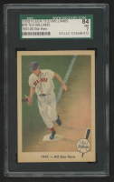 Ted Williams 1959 Fleer Ted Williams #59 / 1941 / All Star Hero (SGC 7) at PristineAuction.com
