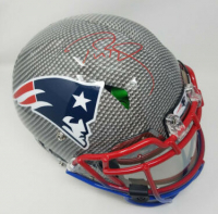 Tom Brady Signed Patriots Custom Hydro Dipped LE Full-Size Authentic On-Field Helmet (Steiner COA & Tristar Hologram) at PristineAuction.com