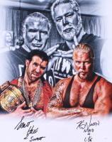 "Kevin Nash & Scott Hall Signed WWE 16x20 Photo Inscribed ""2 Sweet"" & ""N.W.O. 4 Life"" (JSA COA) at PristineAuction.com"