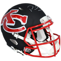 Patrick Mahomes Signed Chiefs Full-Size Authentic On-Field AMP Alternate Speed Helmet (Fanatics Hologram) at PristineAuction.com