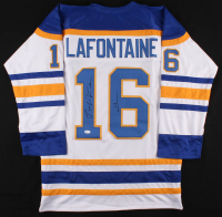 Pat LaFontaine Signed Captains Jersey (JSA COA) at PristineAuction.com