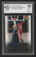 LeBron James 2003 Upper Deck LeBron James Box Set #22 / Above the Rim (BCCG 10) at PristineAuction.com