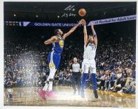 "Luka Doncic Signed Mavericks 16x20 Photo Inscribed ""19 ROY"" (Fanatics Hologram) at PristineAuction.com"