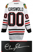 """Chevy Chase Signed """"National Lampoon's Christmas Vacation"""" Blackhawks Jersey (Schwartz COA & Chase Hologram) at PristineAuction.com"""