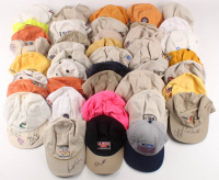 Lot of (41) Golf Hats Signed by (59) with Payne Stewart, Arnold Palmer, Lee Trevino, Jack Nicklaus, Tom Watson (JSA ALOA) at PristineAuction.com