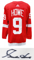 Gordie Howe Signed Red Wings Jersey (Schwartz COA) at PristineAuction.com